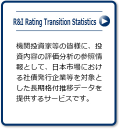 R&I Rating Transition Statistics